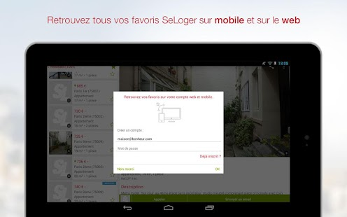 SeLoger - location, immobilier - screenshot thumbnail