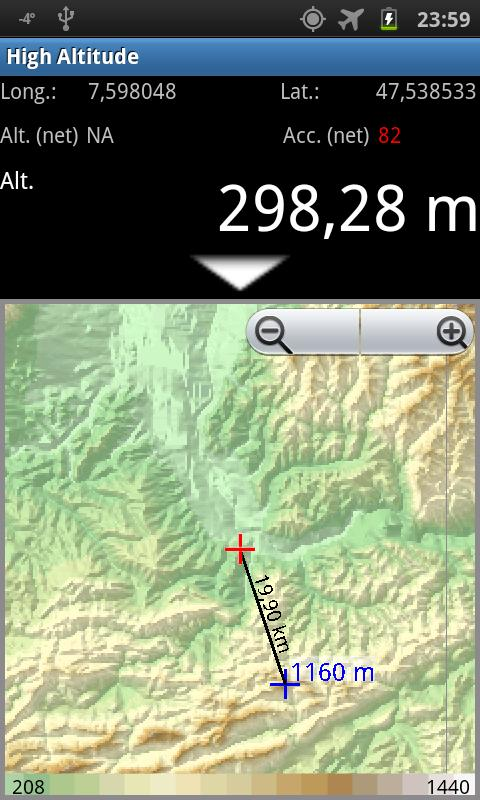 High Altitude Android Apps On Google Play - Altimeter map