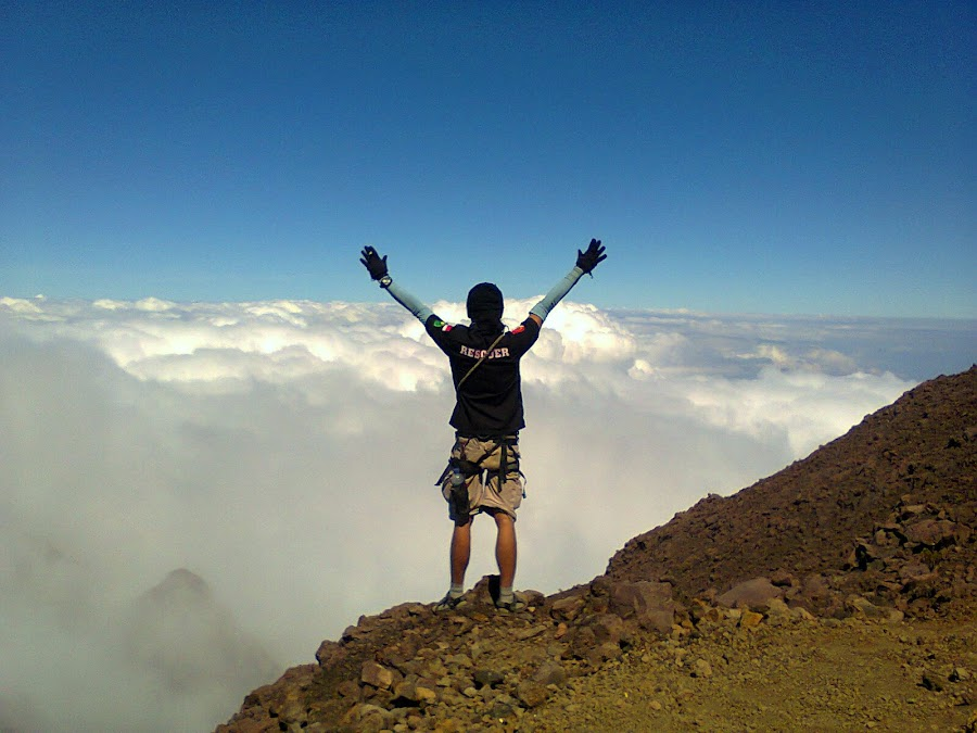 Reach The Cloud by Rudi Rachmat - Landscapes Mountains & Hills ( lifestyle, travel, people, culture,  )