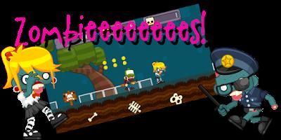 Screenshot of Zombie Runner