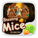 GO SMS PRO STEALINGMICE  THEME icon