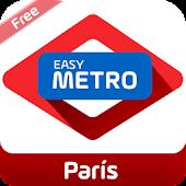 Easy Metro map Paris