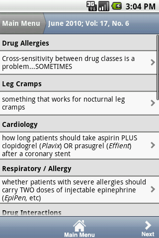 Prescriber's Letter®- screenshot