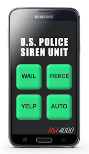 U.S. Police Siren Screenshot