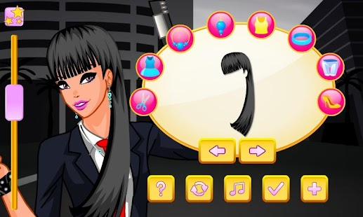 Super Agent Girl Dress Up - screenshot thumbnail