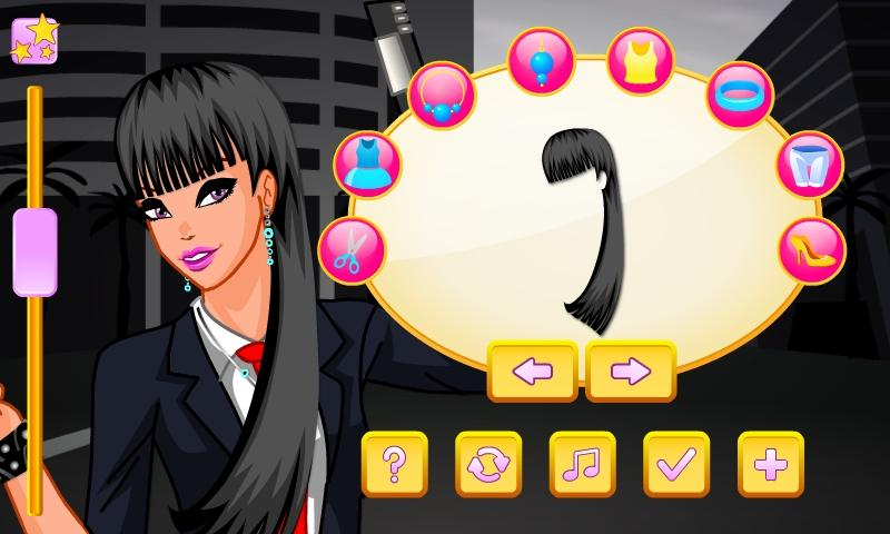 Super Agent Girl Dress Up - screenshot