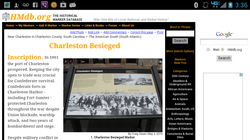 Charleston Tour Lite- screenshot