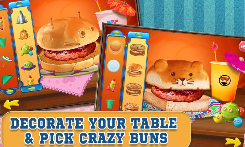 Burger Maker Crazy Chef - screenshot