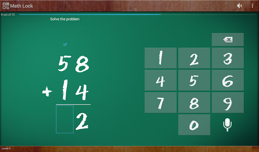 Math Lock Lite - screenshot thumbnail