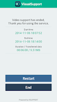 Screenshot of VisualSupport - RemoteCall