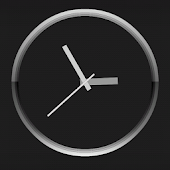 Titanium Clock Live Wallpaper