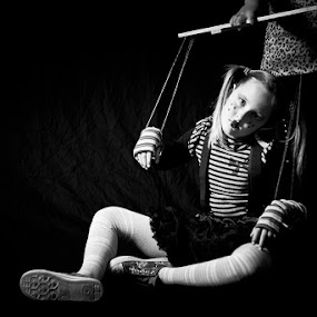 The Marionette by Jodi Turner - Black & White Portraits & People (  )