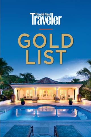 Condé Nast Traveler Gold List - screenshot
