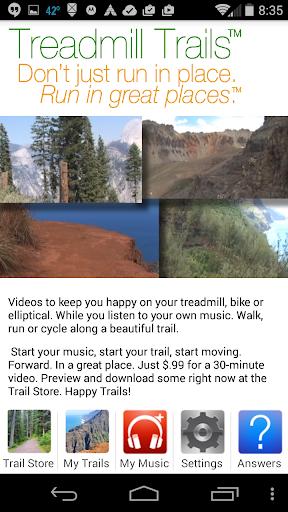 Treadmill Trails