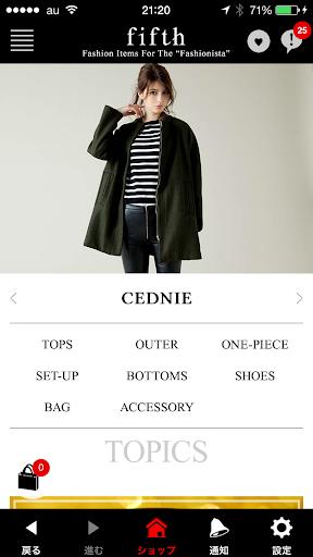 【免費購物App】fifth(フィフス)/オシャレな洋服・靴・バッグ通販-APP點子