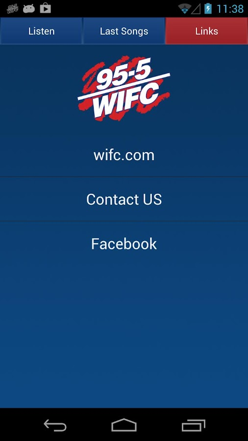 95.5 WIFC - screenshot