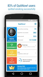 QuitNow! PRO - Stop smoking - screenshot thumbnail