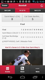 CSUN Matadors Front Row- screenshot thumbnail