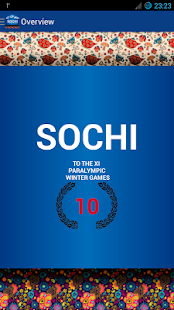 Sochi calendar - screenshot thumbnail