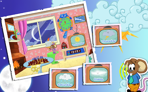 Weather and Clock for Kids - screenshot thumbnail