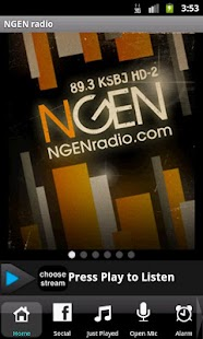 NGEN radio TODAY'S HIT MUSIC - screenshot thumbnail