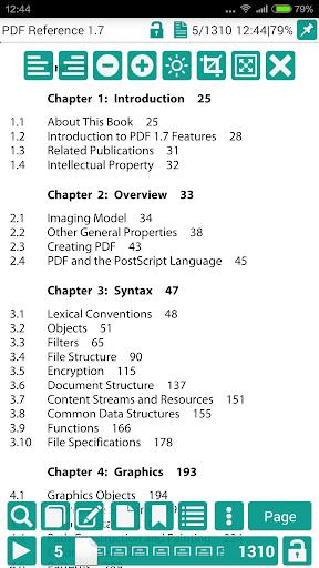 PDF閱讀器 閱讀