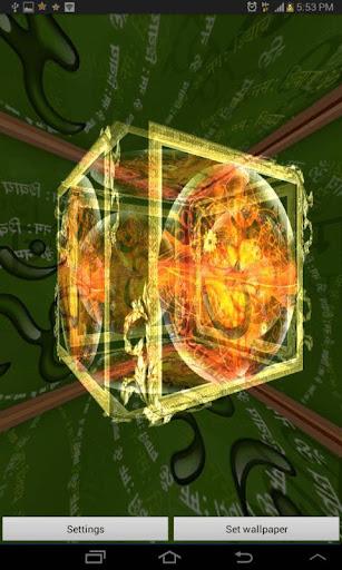 3D OM Live Wallpaper 3.3 screenshots 3