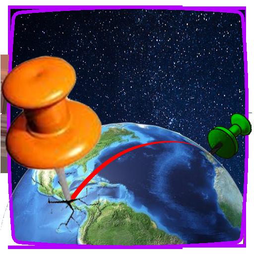 在哪里?地理游戏 LOGO-APP點子