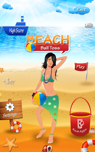 Beach Ball Toss