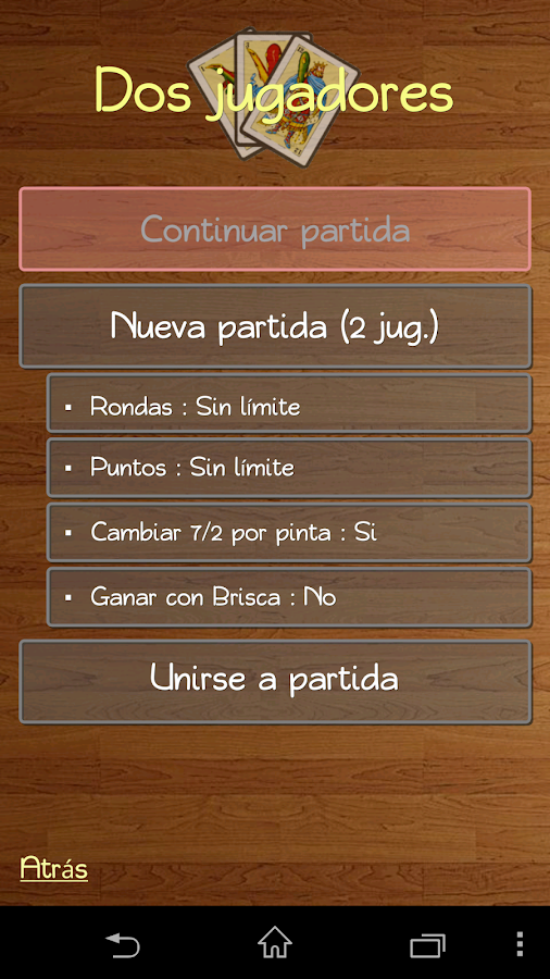 Briscola Online HD - La Brisca - screenshot