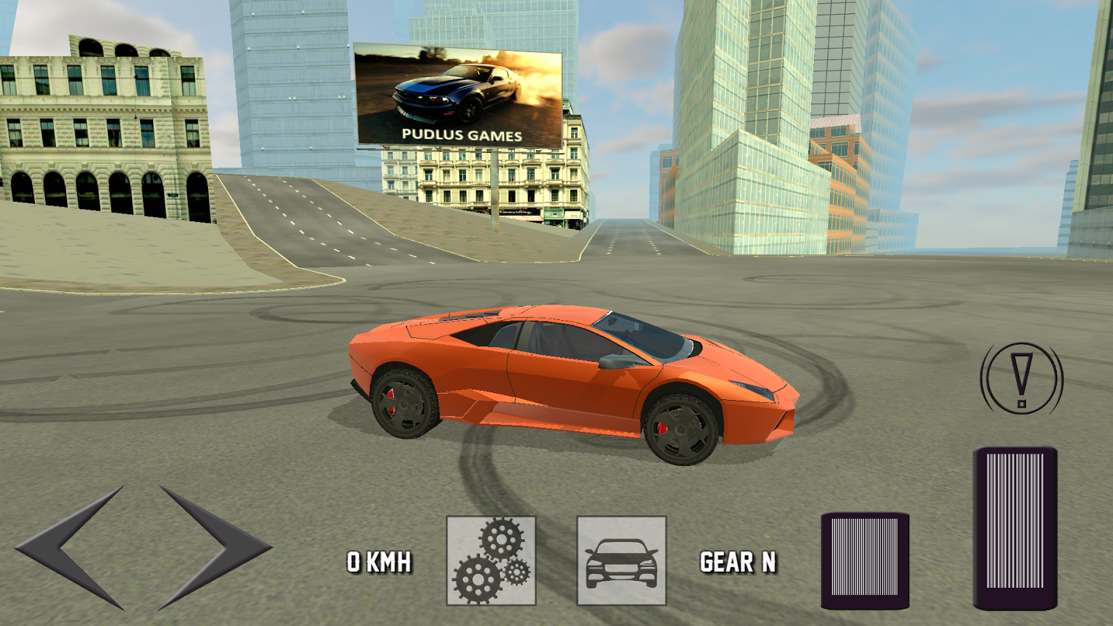 Super car city driving sim free games free online - Extreme Super Car Driving 3d Screenshot