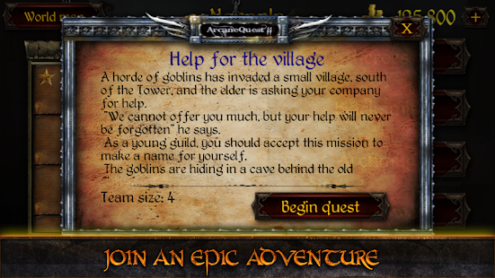 Arcane Quest 2 RPG- screenshot thumbnail