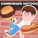 Hamburger Hotdog logo