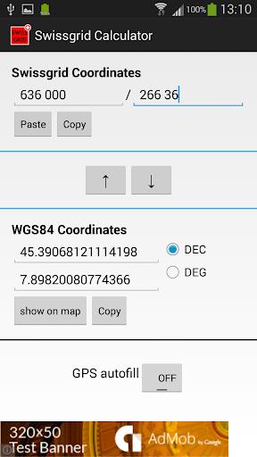 Swissgrid Calculator