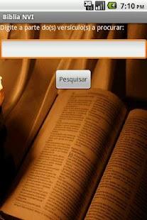 Bíblia NVI Offline- screenshot thumbnail