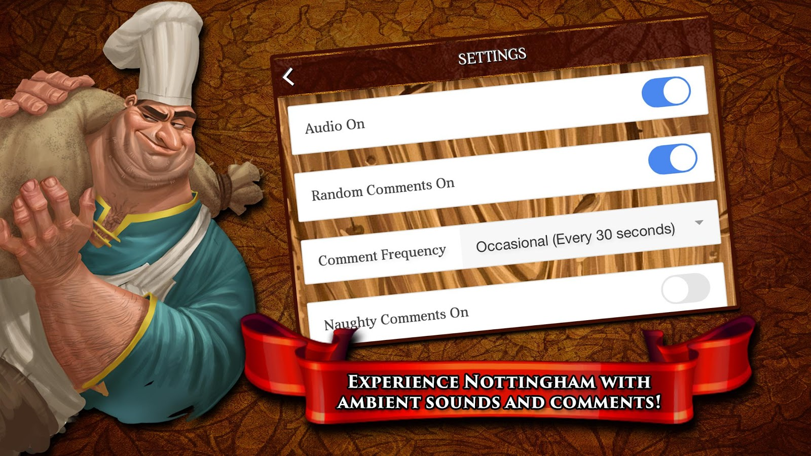 Sheriff of Nottingham: captura de tela