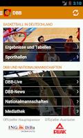 Screenshot of DBB