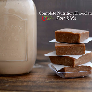 Complete Nutrition Chocolate Bars for Kids