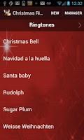 Screenshot of Christmas Ringtones Free