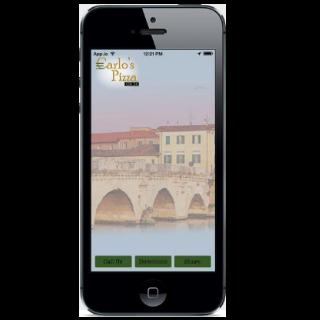 Carlo's Pizza Mobile App - screenshot