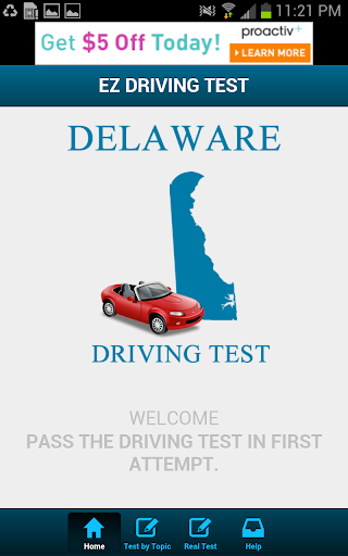 Delaware Driving Test