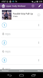 Fitocracy Workout Fitness Log Screenshot 3
