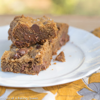 Cookie Butter Sea Salt CC Blondies Recipe