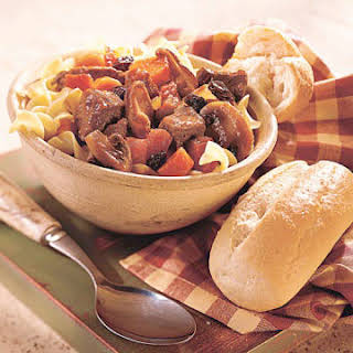 Beef-Mushroom Stew.