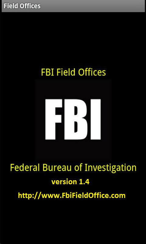 FBI Field Offices for Phones screenshot #1