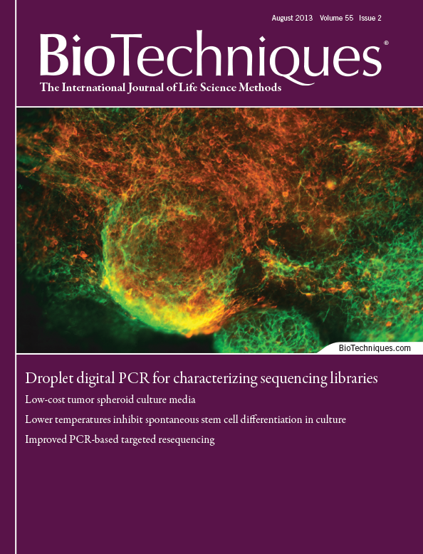 BioTechniques - screenshot