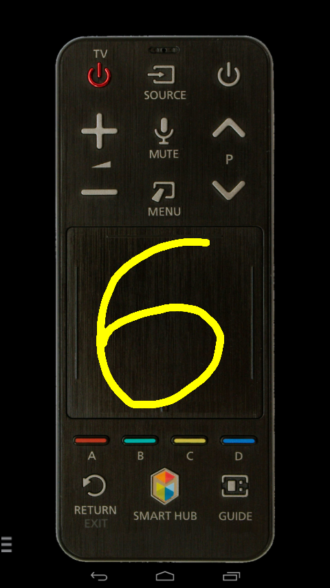 tv samsung remote touchpad android apps on google play. Black Bedroom Furniture Sets. Home Design Ideas
