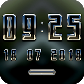 WINNER Digital Clock Widget