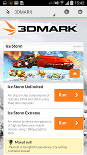 3DMark Ice Storm Benchmark - screenshot thumbnail
