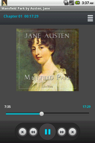 Audiobook: Mansfield Park